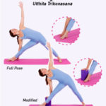 triangle pose